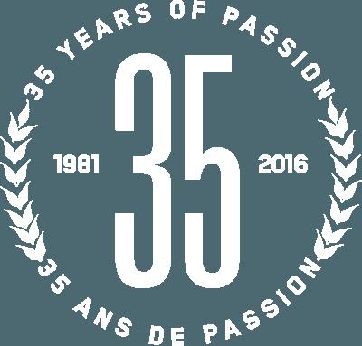 35 ans de passion