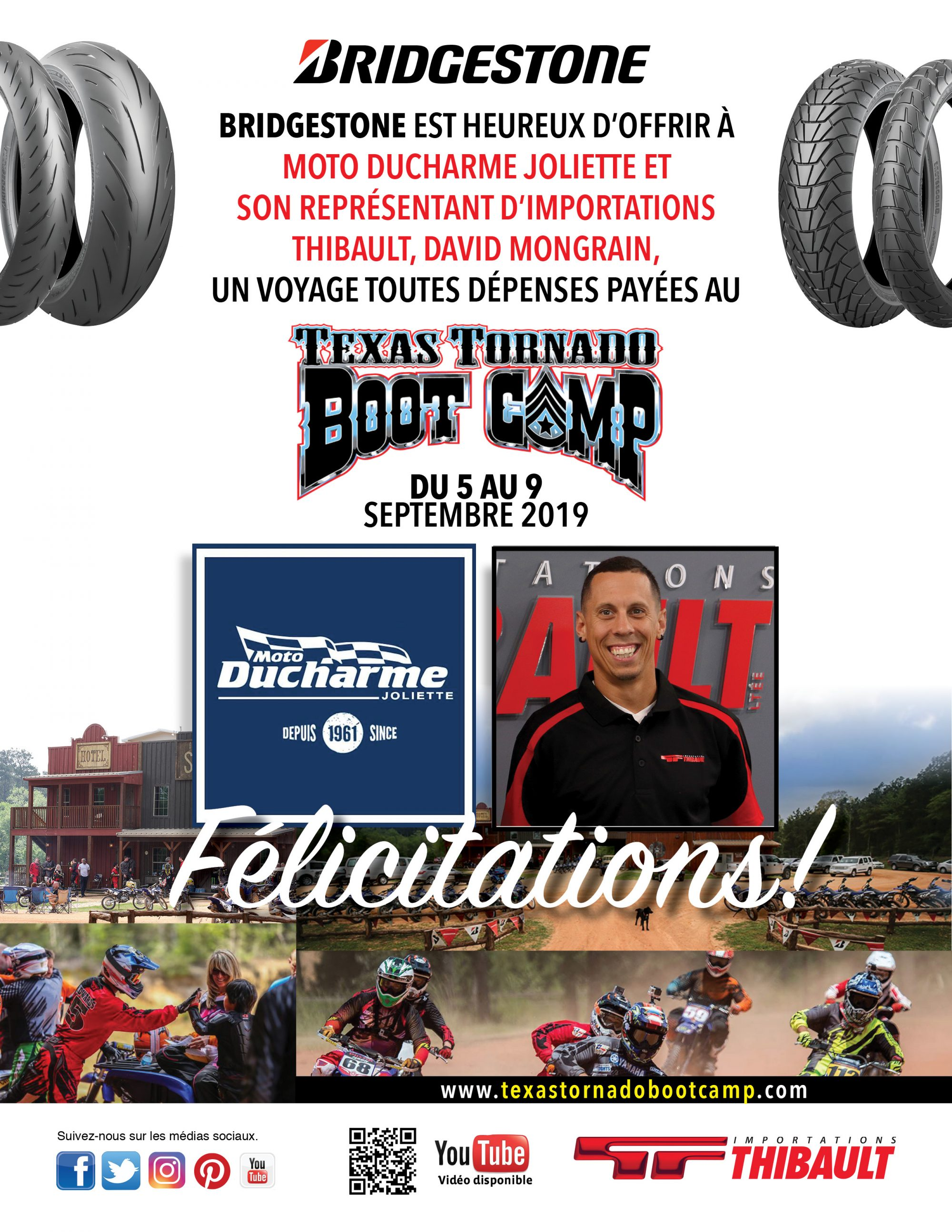 BRIDGESTONE / Texas Tornado Boot Camp Contest Winner