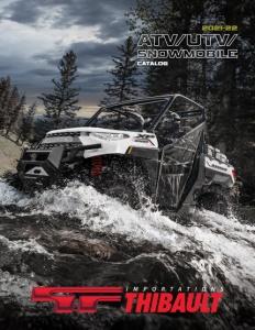 ATV – UTV – Snowmobile 2021-2022