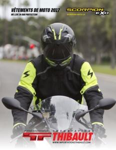 Vêtements de moto 2017 SCORPION