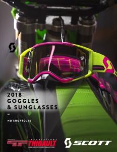 2018 SCOTT Goggles & Sunglasses